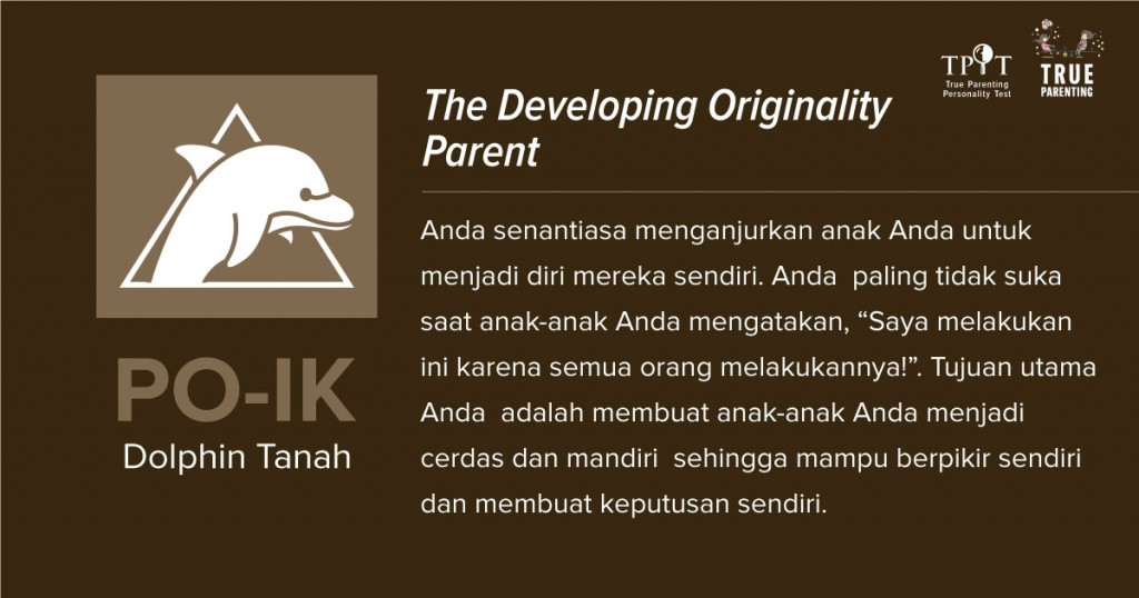 Dolphin Tanah (PO-K) - Most Individualistic